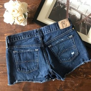 """Lucky Brand Shorts - Lucky Brand """"The Cut Off"""" Shorts, Size 0/25"""